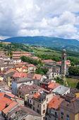 Vue panoramique de bardi. Émilie-Romagne. Italie. — Photo