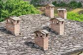 Typical house. Bardi. Emilia-Romagna. Italy. — Stock Photo