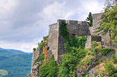 Castle of Bardi. Emilia-Romagna. Italy. — Foto de Stock