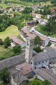 Panoramic view of Bardi. Emilia-Romagna. Italy. — Stock Photo