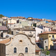 Panoramic view of Pietramontecorvino. Puglia. Italy. — Stock Photo