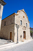 Church of Annunziata. Pietramontecorvino. Puglia. Italy. — 图库照片