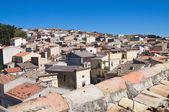 Panoramic view of Pietramontecorvino. Puglia. Italy. — Stock Photo