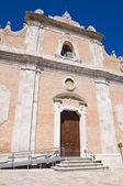 Kościoła carmine. lucera. puglia. włochy. — Zdjęcie stockowe