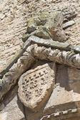 Svatyně kostel st. francesco. lucera. puglia. itálie. — Stock fotografie