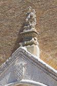 Cathedral Basilica. Lucera. Puglia. Italy. — Stock Photo