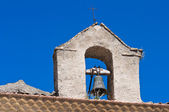 Church of the Rosary. Pietramontecorvino. Puglia. Italy. — Stock Photo