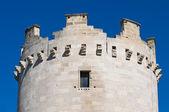 Wieża królowej. zamek lucera. puglia. włochy. — Zdjęcie stockowe