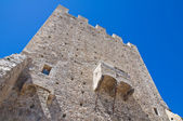 Norman tower. Pietramontecorvino. Puglia. Italy. — Stock Photo