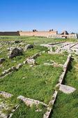 Castle of Lucera. Puglia. Italy. — Stock Photo