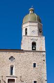 Mother Church. Pietramontecorvino. Puglia. Italy. — Stock Photo