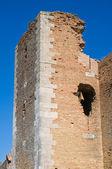 Burg von lucera. puglia. italien. — Stockfoto