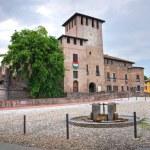 Rocca Sanvitale. Fontanellato. Emilia-Romagna. Italy. — Stock Photo
