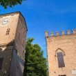 Stock Photo: Rossi Fortress of SSecondo Parmense. Emilia-Romagna. Italy.
