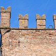 Rossi Fortress of SSecondo Parmense. Emilia-Romagna. Italy. — Stock Photo #10396875
