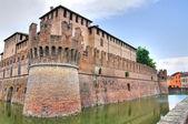 ロッカ ・ sanvitale。フォンタネラート。エミリア = ロマーニャ州。イタリア. — ストック写真