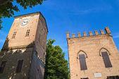 Rossi Fortress of San Secondo Parmense. Emilia-Romagna. Italy. — Zdjęcie stockowe