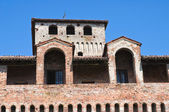 Castle of Roccabianca. Emilia-Romagna. Italy. — Stock Photo