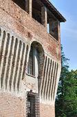Castle of Roccabianca. Emilia-Romagna. Italy. — Fotografia Stock