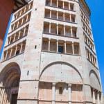 Baptistery. Parma. Emilia-Romagna. Italy. — Stock Photo #10411897