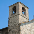 St. Lorenzo Church. Torrechiara. Emilia-Romagna. Italy. — Stock Photo