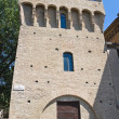 Stock Photo: Rocchetttower. Parma. Emilia-Romagna. Italy.