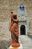 Castle of Compiano. Emilia-Romagna. Italy. — Stock Photo