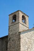 St. Lorenzo Church. Torrechiara. Emilia-Romagna. Italy. — Stock Photo