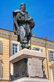 Giuseppe Garibaldi bronze statue. — Stock Photo