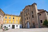 St. Francesco al Prato church. Parma. Emilia-Romagna. Italy. — Stock Photo