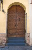Wooden door. — Stock Photo