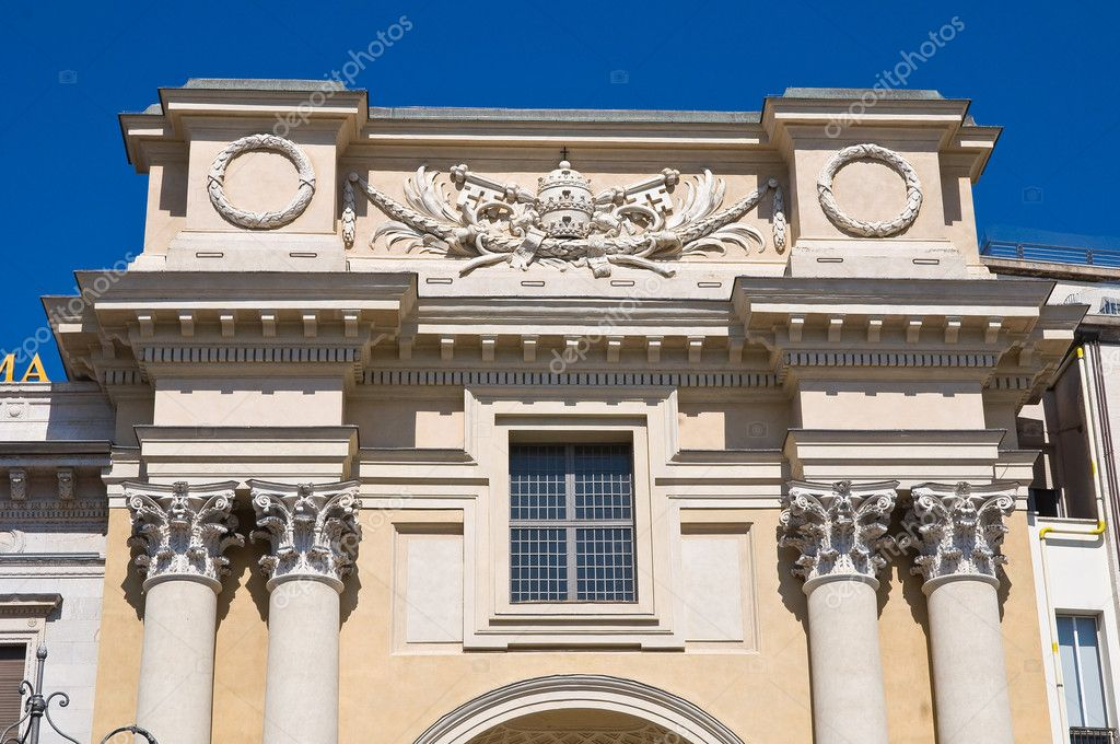 St. Pietro Church. Parma. Emilia-Romagna. Italy. — Stock Photo #10412135