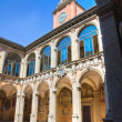 Archiginnasio of Bologna. Emilia-Romagna. Italy. - Stock Photo