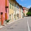 Stock Photo: Alleyway. Montechiarugolo. Emilia-Romagna. Italy.
