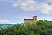 Castle of Pellegrino Parmense. Emilia-Romagna. Italy. — Stock Photo