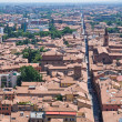 Panoramic view of Bologna. Emilia-Romagna. Italy. - Stockfoto