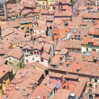 Panoramic view of Bologna. Emilia-Romagna. Italy. - Stock Photo
