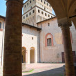 Castle of Torrechiara. Emilia-Romagna. Italy. - Stock Photo