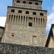 Stock Photo: Castle of Torrechiara. Emilia-Romagna. Italy.