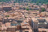 Panoramic view of Bologna. Emilia-Romagna. Italy. — Stock fotografie
