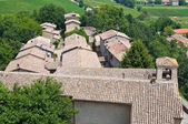 Castillo de torrechiara. emilia-romaña. italia. — Foto de Stock