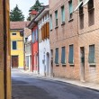Stock Photo: Alleyway. Cento. Emilia-Romagna. Italy.
