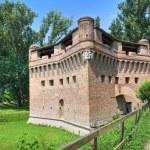 Fortress Rocca Stellata. Bondeno. Emilia-Romagna. Italy. — Stock Photo #10487851