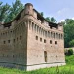 Fortress Rocca Stellata. Bondeno. Emilia-Romagna. Italy. — Stock Photo #10489100