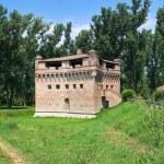 Fortress Rocca Stellata. Bondeno. Emilia-Romagna. Italy. — Stock Photo #10489316