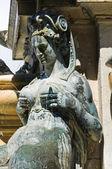Fountain of Neptune. Bologna. Emilia-Romagna. Italy. — Стоковое фото