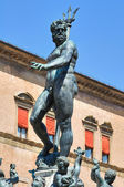Fountain of Neptune. Bologna. Emilia-Romagna. Italy. — Stock Photo