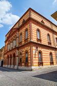 Teatro borgatti. cento. emilia-romaña. italia. — Foto de Stock