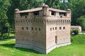 Fortress Rocca Stellata. Bondeno. Emilia-Romagna. Italy. — Stock Photo