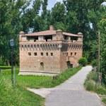 Fortress Rocca Stellata. Bondeno. Emilia-Romagna. Italy. — Stock Photo #10490030
